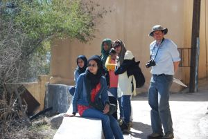 Group Picture In Jebel Al Akhdar