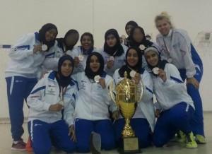 فريق الجامعة لكرة القدم النسائية