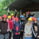 AGEO students visiting a mine in Germany