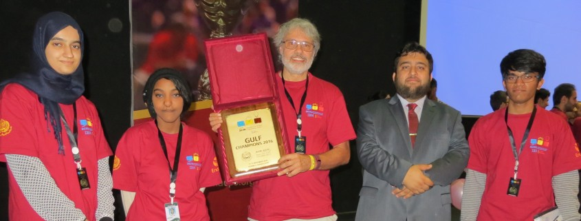 GUtech Students won the awards as GCC_champions