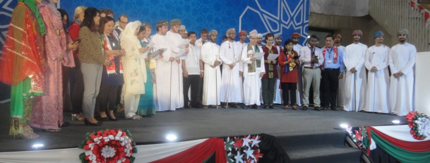 National Day Celebrations at GUtech - GUtech staff of different nationalities