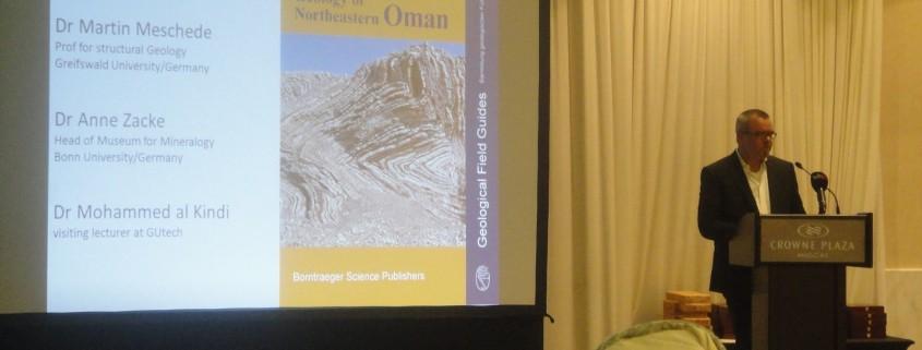 Prof. Dr. Goesta Hoffmann during his speech - small photo