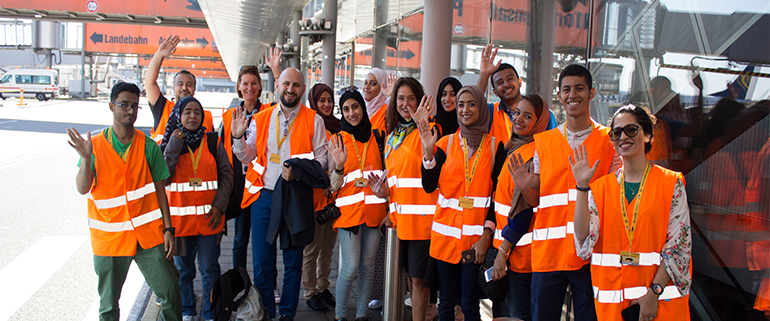 BSc Logistics students visit Germany