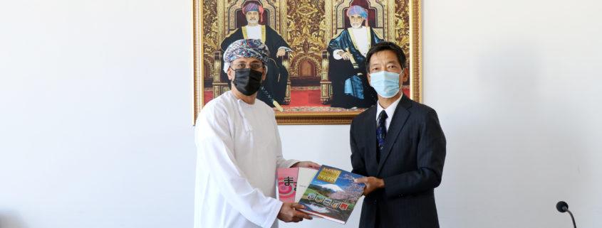 KOBAYASHI Toshinori, Japanese Ambassador to Oman Pays a Visit to GUtech Campus in Halban