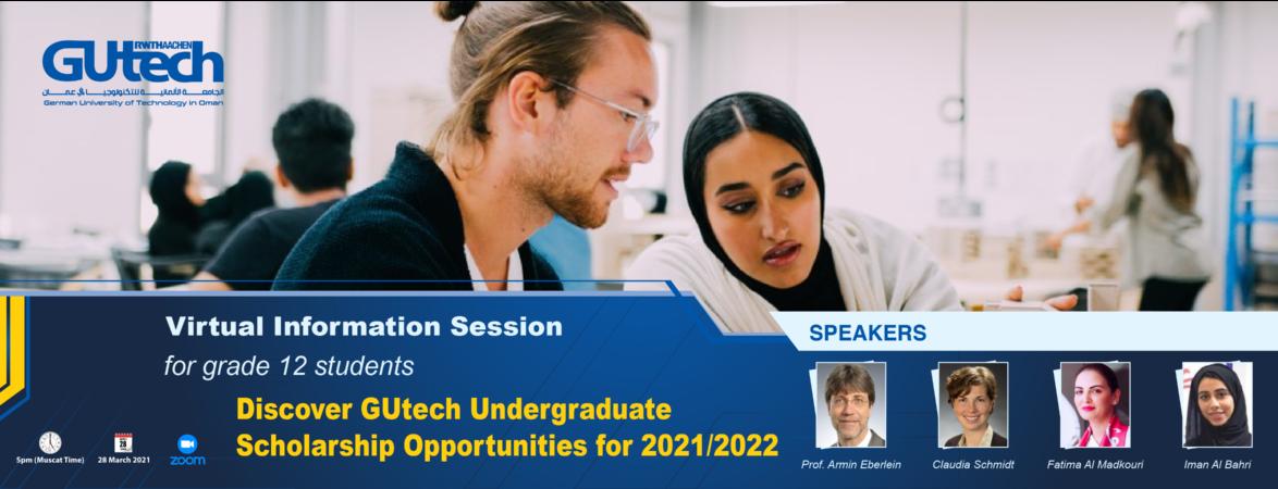 Discover GUtech Undergraduate Scholarship Opportunities